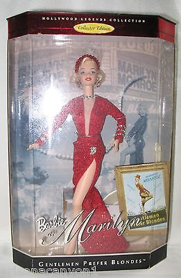 Mattel Barbie as Marilyn Hollywood Legend Collection Collector Edition NRFB