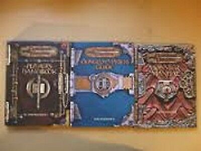 Dungeons & Dragons 3rd Edition Core Handbooks (Dungegon Master Player & Monster)