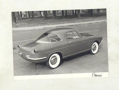 1954 ? Fiat 1100TV Boano ORIGINAL Factory Photograph ww5824