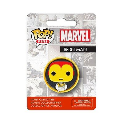 Iron Man POP! Pins Marvel Adult Collectible