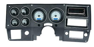 Dakota Digital 73-91 Chevy Suburban Analog Gauges Silver Alloy Blue VHX-73C-PUSB