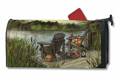 Magnet Works Lakeside Original Magnetic Mailbox Wrap Cover
