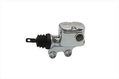 Rear Master Cylinder Chrome,for Harley Davidson motorcycles,by V-Twin