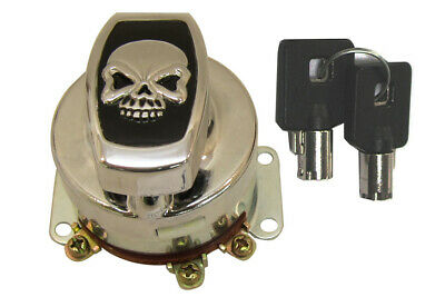 Fat Bob Ignition Key Switch,for Harley Davidson motorcycles,by V-Twin