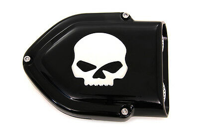 Black V-Charger Air Cleaner,for Harley Davidson motorcycles,by V-Twin