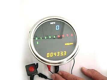 LED Digital Speedometer and Tachometer Assembly,for Harley Davidson motorcycl...
