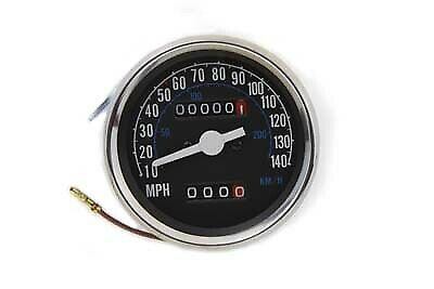2:1 Speedometer Head,for Harley Davidson motorcycles,by V-Twin