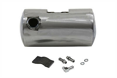 Round Oil Tank Raw,for Harley Davidson motorcycles,by V-Twin