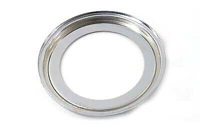 Chrome Speedometer Adapter Ring fits Harley Davidson,V-Twin 39-0130