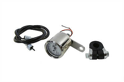Deco 48mm Mechanical Tachometer Kit with 2:1 Ratio,for Harley Davidson motorc...