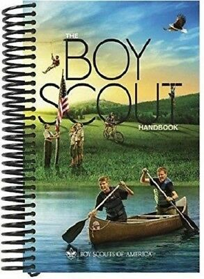 New Boy Scout Official Spiral Bound 2016 Handbook 13th Edition Pages Lay Flat