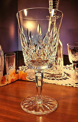 """Waterford Crystal Lismore Water Goblets Glasses 600/318- 6 7/8"""""""