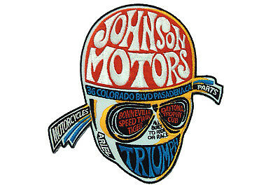 Johnson Motors Triumph Patches,for Harley Davidson motorcycles,by V-Twin
