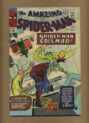 Amazing Spider-Man 24 (Nice!) Mysterio appearance; Ditko; Marvel; 1965 (c#12998)