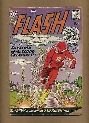 Flash 111 (Complete!) DC 1960 Silver Age 2nd Kid Flash Cloud Creatures (c#12321)