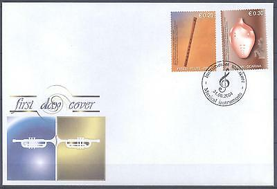 Kosovo 2004 Fdc Musical Instruments  Very Fine