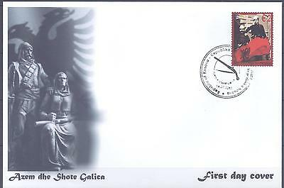 Kosovo 2010 Fdc Fighters For Albanian Independence Very Fine