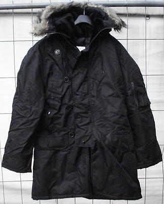 Fliegerparka N3B US Style schwarz Parka extreme cold weather