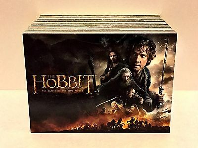 The Hobbit: The Battle of Five Armies (2016) Base Trading Card Set (90 Cards)