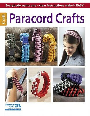 PARACORD CRAFTS-Beaded Braiding-Knots-Macrame-Bracelets-Jewelry Craft Idea Book
