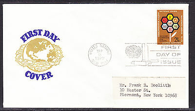 United Nations 1972 - Europe E.C.E. First Day Cover addressed
