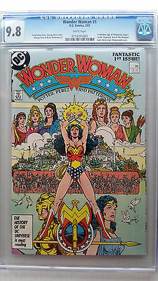 Wonder Woman #1 CGC 9.8 NM/M  New Origin