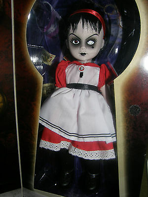 "Living Dead Doll   Alice In Wonderland   ""Sadie""    2009 Factory Sealed Doll"