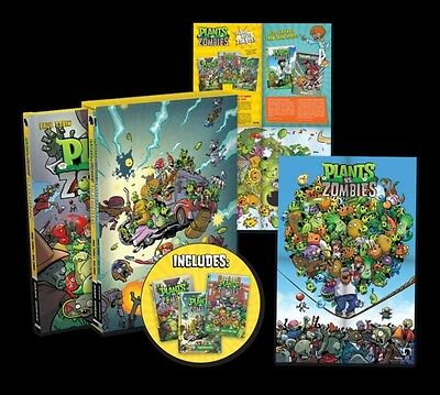 Plants vs Zombies Boxed Set (Hardcover), Paul Tobin, Ron Chan, 9781506700434