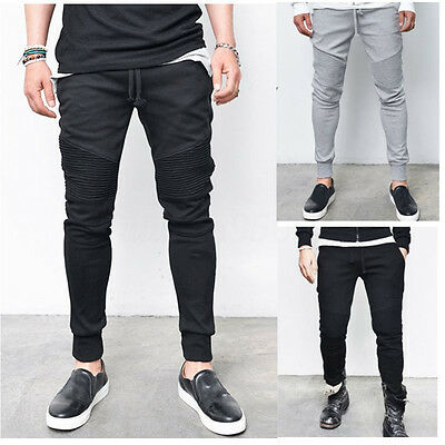 INCERUN Mens Casual Training Trousers Gym Tracksuit Joggers Jogging Sport Pants