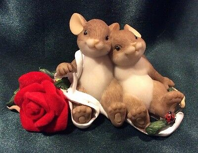 Charming Tails By Dean Griff - A Beautiful Rose For A Beautiful Love