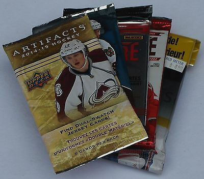 Hockey Trading Cards Lot Of 25 Mixed Packs New & Sealed