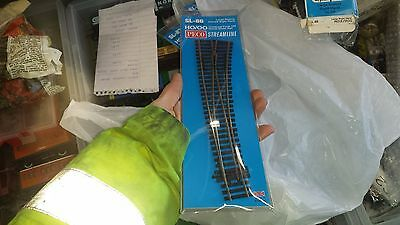 OO Gauge Peco SL-86 Curved Right Hand Point (Insulfrog) track in packet