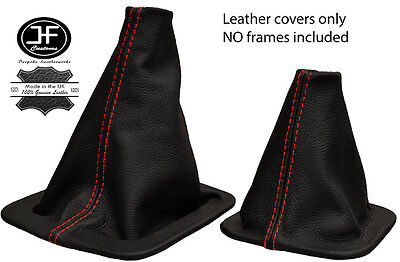 TAN STITCH FITS LANDROVER DISCOVERY 89-04 MANUAL GEAR STICK GAITER LEATHER