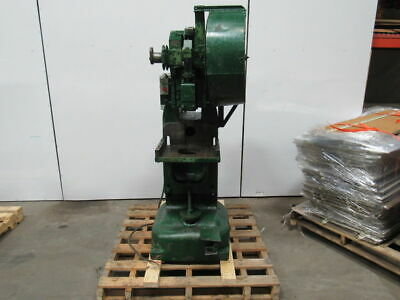 Rousselle 15H 15 Ton Adjustable Bed Horn/Punch Press