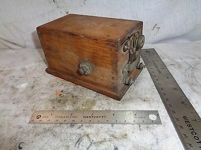 Buzz Coil Unknown make original high tension coil for hit miss engine IHC Mogul