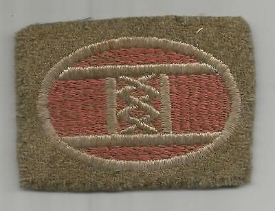 """WW 1 US Army 30th Division 2-7/8"""" X 2"""" Patch Inv# K304"""