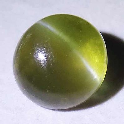 CHRYSOBERYL CAT'S EYE Oval & Rare Round Cabochon Loose Ring Stones 14010508-15-Q