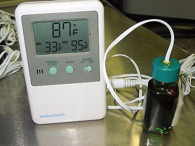 TRACEABLE T-2960-4 Digital Thermometer Refrigerator/Freezer Laboratory