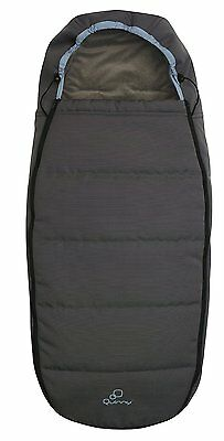 New Quinny Footmuff Brown Boost Insulated sleeping bag fits quinny buzz stroler