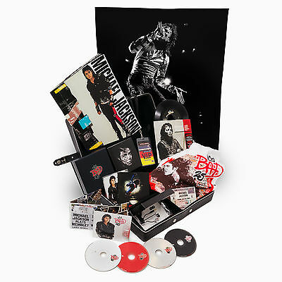 MICHAEL JACKSON BAD 25 Deluxe Collectors Edition - BAD-themed case MINT NEUF