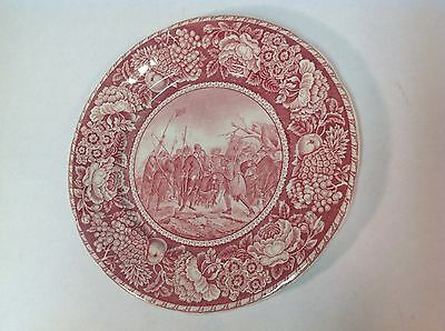Plymouth, Ma Staffordshire Plate