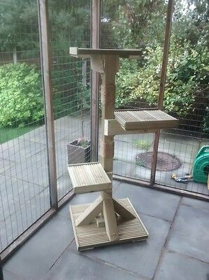 The 'ruby' Luxury Outdoor Cat Tree