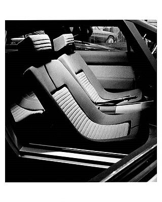 1974 Hyundai Pony Coupe Interior ORIGINAL Factory Photo ouc0464