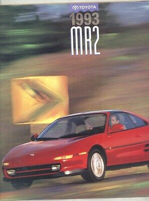 1993 Toyota MR2 Turbo Brochure my6713