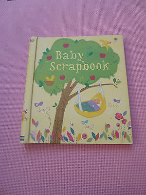 Usborne Baby Scrapbook / Journal / Record Book - Never Used