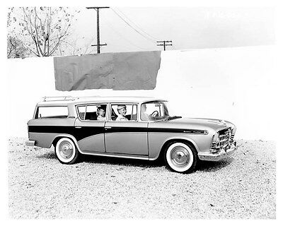 1957 Rambler Custom Station Wagon ORIGINAL Factory Photo ouc0557