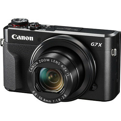 Canon PowerShot G7 X Mark II Digital Camera 1066C001