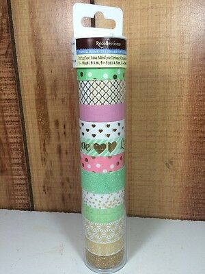 Blush Washi Tape Tube By Recollections Planner Crafting New