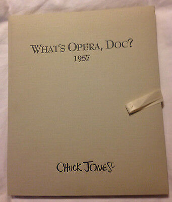 What's Opera, Doc? Giclee Portfolio(5)-CHUCK JONES- NOBLE ONLY 57 LE MADE 1997