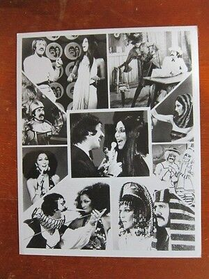 SONNY AND CHER  8x10 photo b